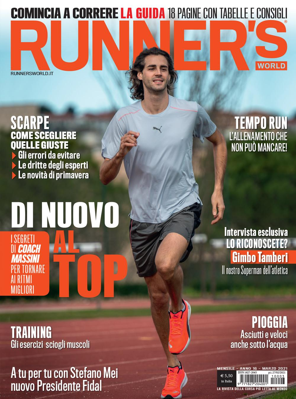 Runner's World di marzo 2021 è disponibile!